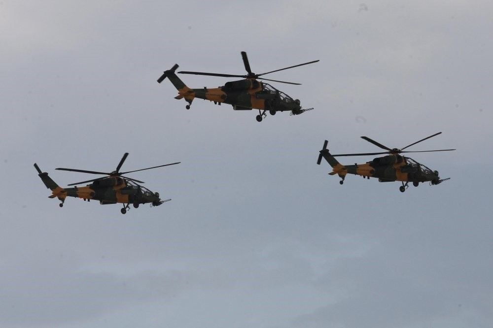 The T129 ATAK helicopter has been in use in operations against the PKK terrorist organization in the southeast for the last few years.