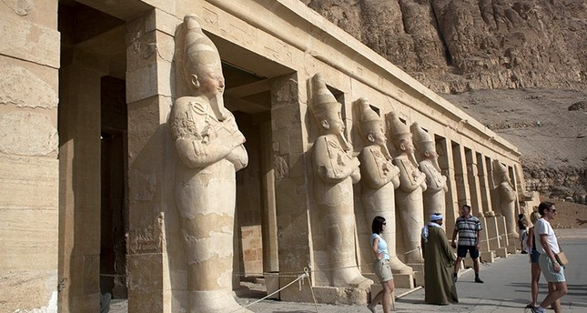 Hatshepsut Temple, in the ancient southern city of Luxor,            Egypt. (AP Photo)