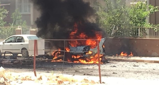 Car explodes in Reyhanlı town center in southern Turkey's Hatay, 3 killed