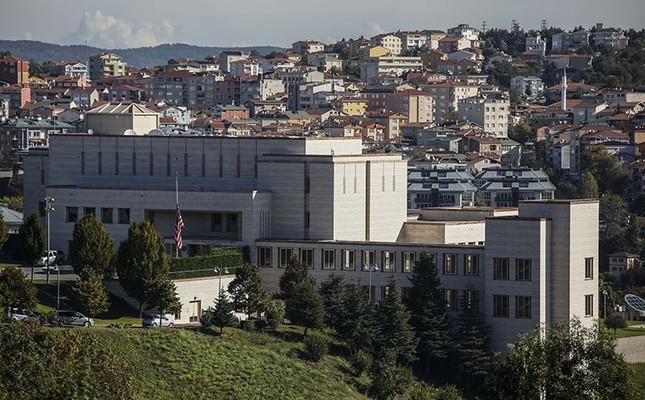emUS Consulate in Istanbul. (DHA Photo)/em