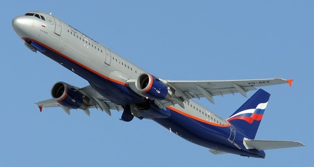 An Aeroflot plane is seen after a take-off in this file photo