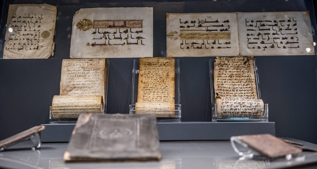 Religious relics on exhibit at Turkish and Islamic Art Museum