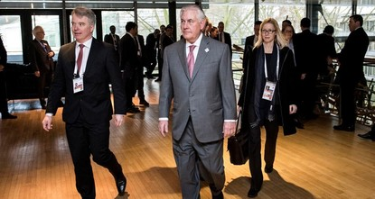Rex Tillerson, former ExxonMobil CEO turned secretary of state, was the most sought-after man at the G20 Munich Security Conference. After meeting with his Russian counterpart, Sergei Lavrov,...