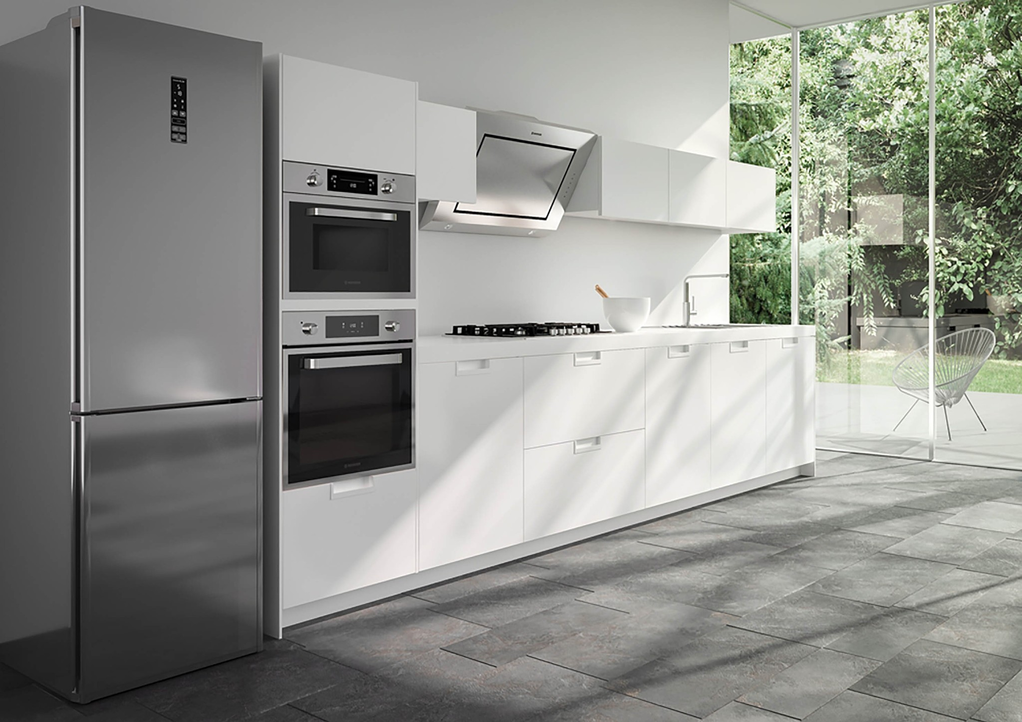 Artificial intelligence is becoming a common feature in home appliances.