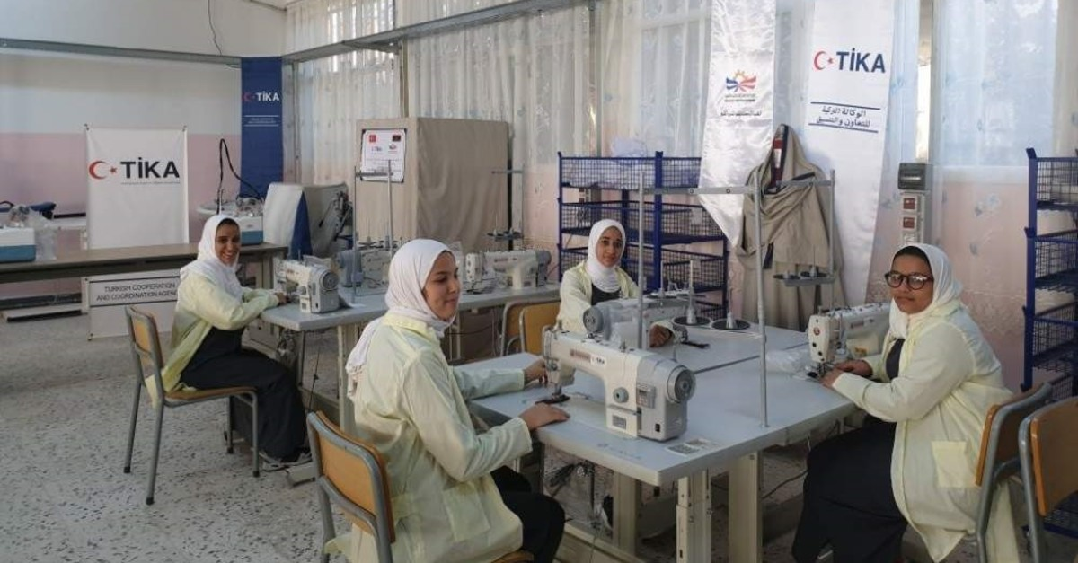 A vocational school furnished with equipment by T?KA in Libya's Tripoli (COURTESY OF T?KA)