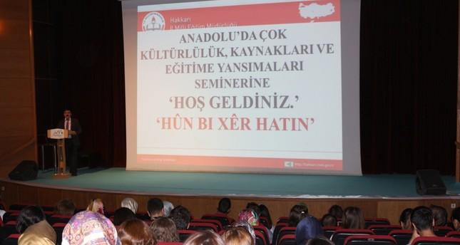 Teachers assigned to Hakkari taught Kurdish
