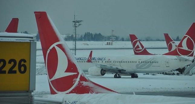 Rund 500 Flüge Wegen Schnee Und Glätte In Istanbul Gestrichen