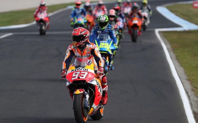 Marquez extends MotoGP lead with Australian win