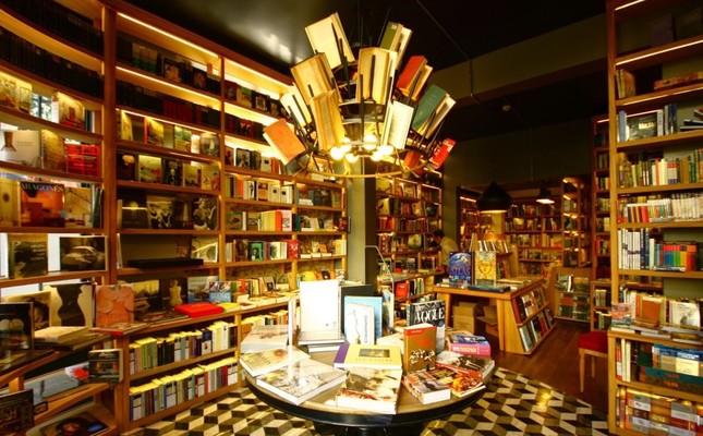 A bookstore in Istanbul
