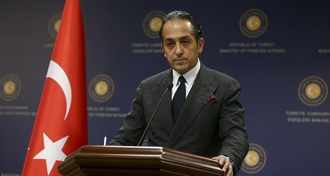 Foreign Ministry Spokesperson Hüseyin Müftüoğlu. (AA Photo)
