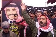 جنازة الملك الراحل حسين بن طلال (من الأرشيف)