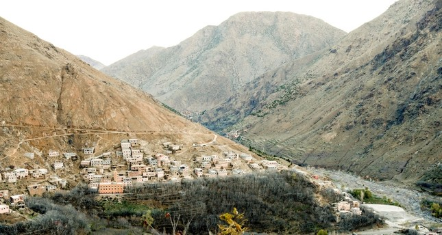 A general view of Imlil, a village nearby popular trekking area in the Atlas mountains where Maren Ueland from Norway and Louisa Vesterager Jespersen from Denmark were found killed, in Morocco, Dec. 20, 2018. (NTB Scanpix/Terje Bendiksby via Reuters)
