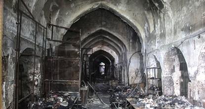 TIKA to restore Kirkuk's Qaysari Bazaar after fire