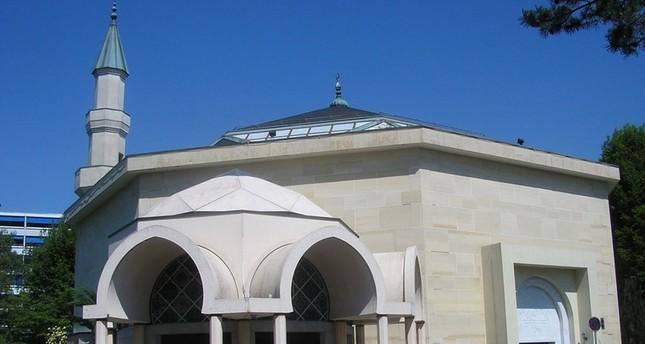 مسجد جنيف من الأرشيف