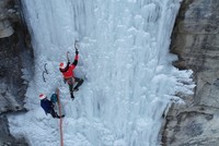 'Slow city' Uzundere gets adrenaline pumping with ice climbing