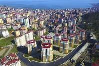 صورة لإحدى المجمعات السكنية بولاية ريزة شمالي تركيا İHA