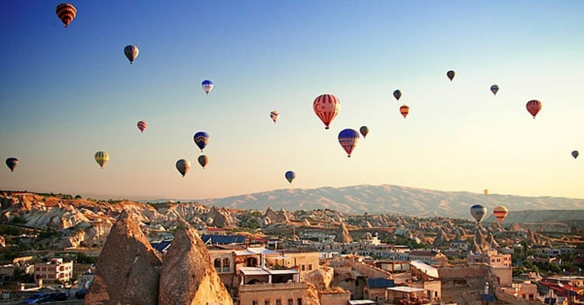 Balloon tours in Cappadocia are one of the most popular shots that go viral on the internet.