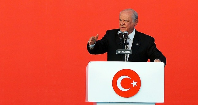 Pawns of imperialism posed as Turkish soldiers on July 15, says MHP's Bahçeli