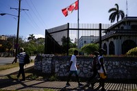 Canada recalls families of diplomatic staff from Cuba