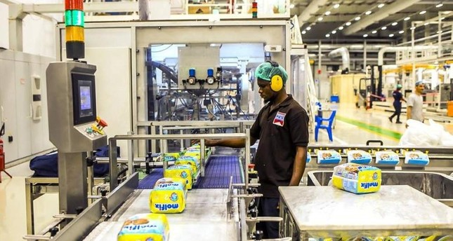 Turkish fast-moving consumer goods producer FMCG Hayat Holding has a production facility in the West African country Nigeria and employs more than 400 people. AA Photo