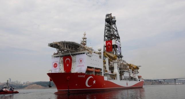 وزير الطاقة التركييعلن بدء سفينة التنقيب ياووز مهمة جديدة شرق المتوسط