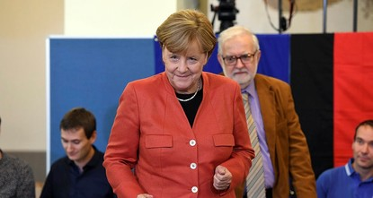 pChancellor Angela Merkel's conservative bloc was on course Sunday for a lackluster victory in Germany's national election while the anti-migrant Alternative for Germany party was heading for a...