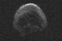 Skull-shaped 'Death Comet' to fly past Earth around Halloween
