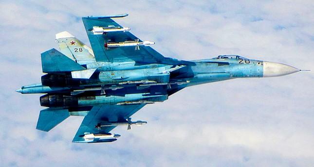 A Russian SU-27 Flanker.  (FILE Photo)