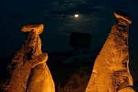 Moonlight walking in Cappadocia a new tourist attraction