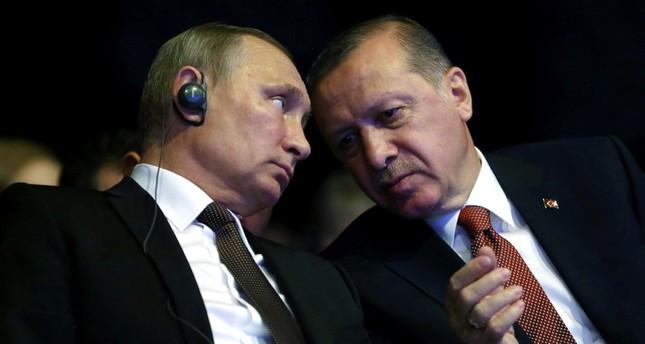 Erdoğan, Putin discuss Syria in phone call