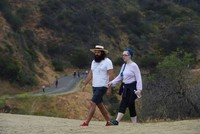 'People walker' helps LA residents beat loneliness
