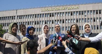 pWomen who have fall victim to anti-Islamic policies of putschists are keeping a close watch on the trial of 103 suspects accused of being behind the so-called postmodern coup of 1997, yet the...