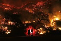 200,000 people flee Southern California as wildfires continue to rage