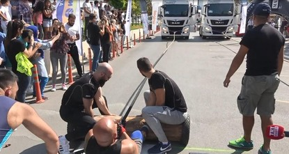أنقرة تحتضن فعاليات مسابقة أقوى رجل لليوم الثاني