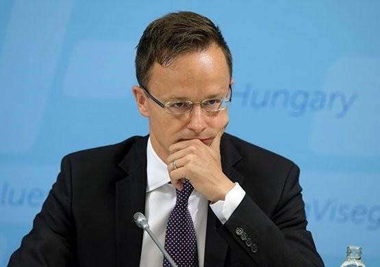 Hungarian Foreign Minister Peter Szijjarto