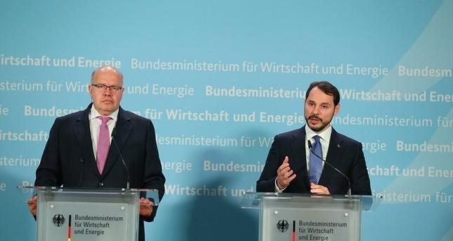 Finanzminister Albayrak trifft Scholz und Altmaier