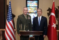 Turkish Defense Minister Akar calls on US to fulfill Manbij roadmap