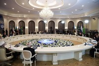Five littoral states including Russia agree on the Caspian's legal status in landmark deal