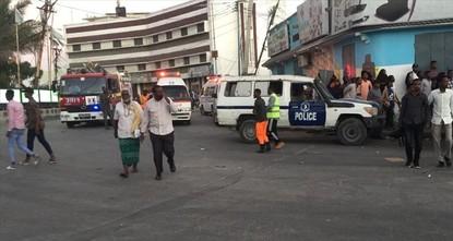 تفجير انتحاري يستهدف فندقا في العاصمة الصومالية مقديشو