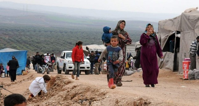 Turkey has taken the lead in supporting and hosting approximately 4 million Syrian refugees. Sabah File Photo