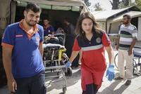 Locals in Jarablus praise efforts of Turkish 'first aid angel'