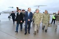 Chief of Staff Akar inspects border units in southeastern Şanlıurfa