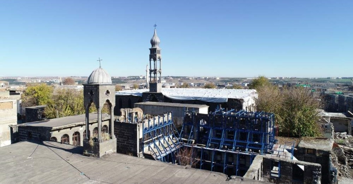 The restoration and renovation of churches are scheduled to be completed by the end of 2020. (DHA Photo)