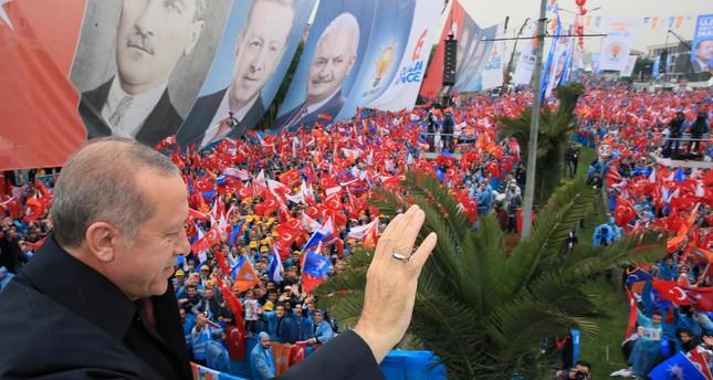 إرادة.. فضيلة.. شجاعة.. مبادئ حملة أردوغان الانتخابية