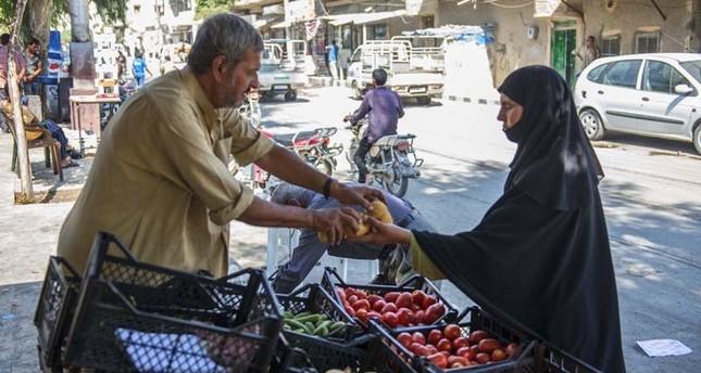 انتعاش الحركة التجارية في جرابلس السورية عقب تحريرها من داعش