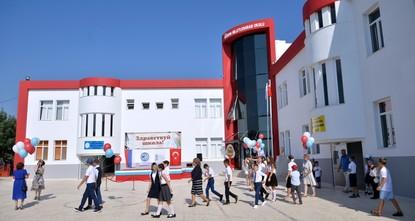 В Мерсине открылась школа для детей специалистов АЭС «Аккую»