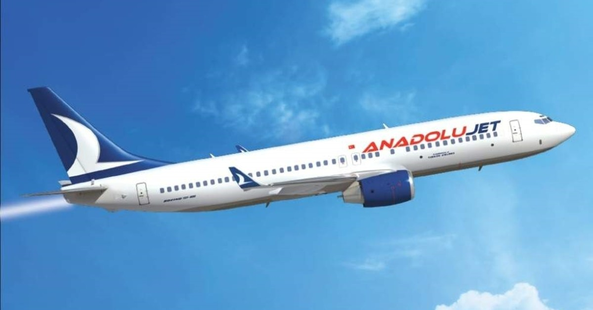 AnadoluJet is poised to fly internationally for the first time with 28 destinations. (DHA Photo)