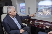 Istanbul New Airport to open on next year's Republic Day, PM Yıldırım says