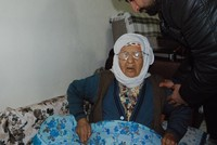 Fatma Gökkaya, 105, a Kurdish woman from Turkey's Şanlıurfa province, has joined the