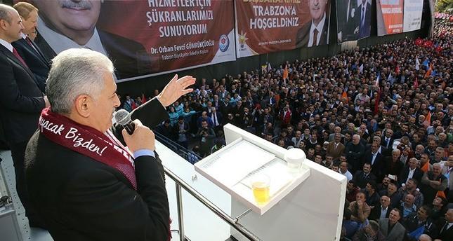 يلدريم: سنقوم بإجراء التعديلات الدستورية والانتقال للنظام الرئاسي بالتعاون مع حزب الحركة القومية